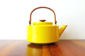 yellow tea kettle amazoncom le creuset enamel on steel whistling