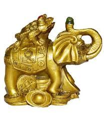 Odishabazaar Vastu Feng Shui Money Frog On Elephant