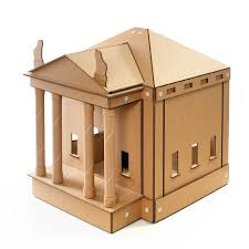 Cardboard House For Cats Challenging Cat Furniture For Various Feline Tastes And Expectations