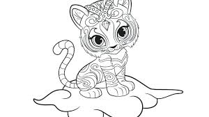 Shimmer And Shine Printable Coloring Pictures Shimmer And Shine