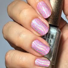 Holo & pink nail art – redheadspaintitbetter