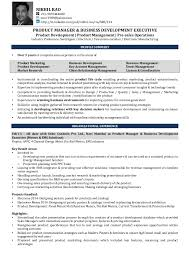 Product Manager Resume Magnificent Nikhil Rao Resume Product Management