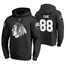2019 Kane Pullover Blackhawks Black Hoodie All-star Patrick Nhl