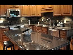 Granite Countertops And Backsplash Ideas Best Inspiration Design