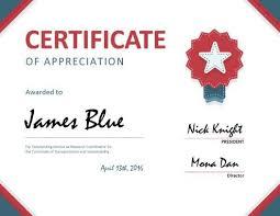 Printable Appreciation Certificates 8 Free Printable Certificates Of Appreciation 293645494283 Free