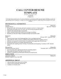 Call Center Agent Job Description Resume Duties Customer Service