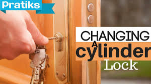 DIY - How to Change a Barrel or Cylinder Lock - YouTube