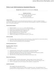 Entry Level Job Resume Templates Resume Examples For Entry Level Jobs Blaisewashere Com