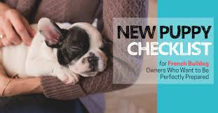 free grab your new puppy checklist