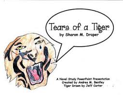 tears of a tiger powerpoint presentation by right down the middle tears of a tiger powerpoint presentation