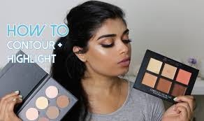 how to highlight and contour for beginners cream powder for um skintones you