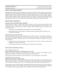 Librarian Sample Resume