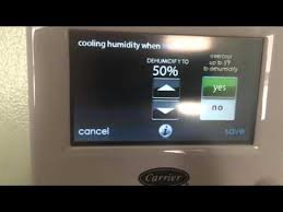 carrier infinity thermostat. carrier infinity touch thermostat features