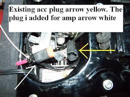 dyna power tie in for radio harley davidson forums Harley Tri Glide Plug Accessory dyna power tie in for radio p3160095 1 jpg
