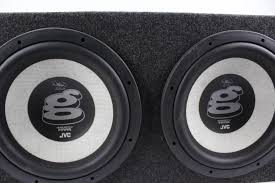 speakers in box. jvc cs-wg1200 warren g 12-inch subwoofer speakers in box