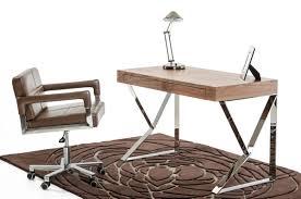 walnut office desks. modrest ferris modern walnut office desk by vig furniture brooklyn ny desks