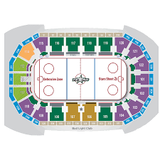 Travis County Expo Center Seating Chart Seating Chart Texas Stars