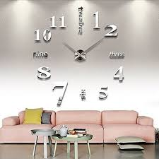 large office wall clocks. Large Living Room Wall Clocks Inspirational Chinatera Modern Mute Diy Clock 3d Sticker Home Office