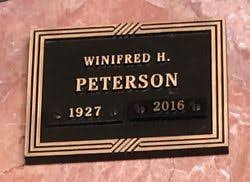 Winifred Hilda Powers Peterson (1927-2016) - Find A Grave Memorial