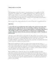 Medical Customer Service Representative Cover Letter Sales Samples