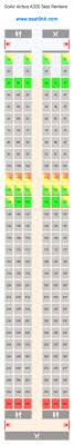Airbus A320neo Seating Chart Goair Airbus A320 Seating Chart Updated December 2019