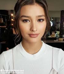 liza soberano love the subtle make up yet you see liza s features beautifully defined makeup by for styled by thank you ate joni and