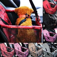 Portable <b>Pet Dog Car Carrier</b> Puppy Folding Washable Car Mat Seat ...