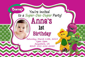 barney party invitation template barney birthday invitations futureclim info