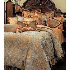 elizabeth bedding set queen by michael amini 12 pc bedding bcs qs12 elzbth aqa 3