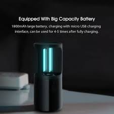 TOA Xiaomi <b>Xiaoda UVC Germicidal</b> Ozone Sterilization Lamp ...