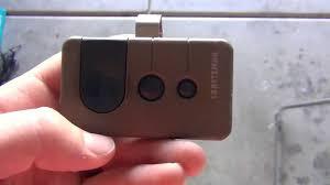 fix a garage door opener remote