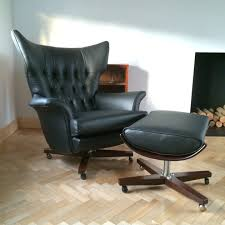 office chair reupholstery. Vintage G Plan 6250 Swivel Chair Office Reupholstery