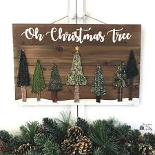 Wooden Christmas Sign With Lights 10 Cute Diy Christmas Signs To Make Right Now Shelterness