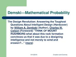 The Design Revolution Answering The Toughest Questions About Intelligent Design Evolving Continents Session Six Su Spring 16 Ppt Download