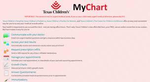 Tcpa My Chart Login Childrens My Chart Gallery Of Chart 2019
