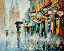 colorful painting best beautiful leonid afremov colored oil acrylic water color