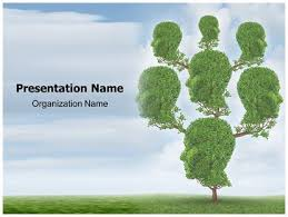 Family Tree Free Powerpoint Template Subscriptiontemplates Com