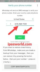 Create Whatsapp Account With Us Number 1 Working Method 2019