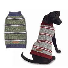 Petrageous Designs Dog Sweater Eddie Bauer Pet Marled Striped Sweater By Petrageous Designs