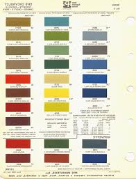 14 Punctual Ppg Automotive Paint Chart