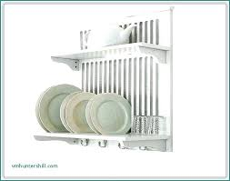 wall mounted dish drying rack wall mounted plate rack luxury wall mounted dish drying racks small