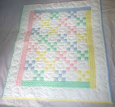 Handmade Amish baby Quilts and Baby Blankets for Sale & Nine Patch Amish Baby Quilt Adamdwight.com