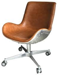 industrial style office chair. Industrial Style Office Chair Swivel Aluminium Frame Caramel Chairs Home Furniture . I