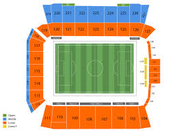 Bmo Field Detailed Seating Chart Sports Simplyitickets