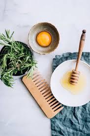 egg and honey hair mask for split ends