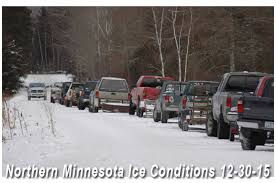 Mn Dnr Ice Thickness Chart Ice Conditions Fishing Reports Fish Articles December 2015