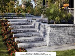 how to build stone steps at home