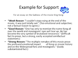 another part to an effective essay ppt video online example for support for an essay on the sadness of the movie king kong