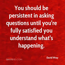 Quotes About Asking Questions Adorable David Wray Quotes QuoteHD