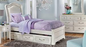 Delightful Sofia Vergara Kayla White 5 Pc Full Panel Bedroom   Teen Bedroom Sets Colors